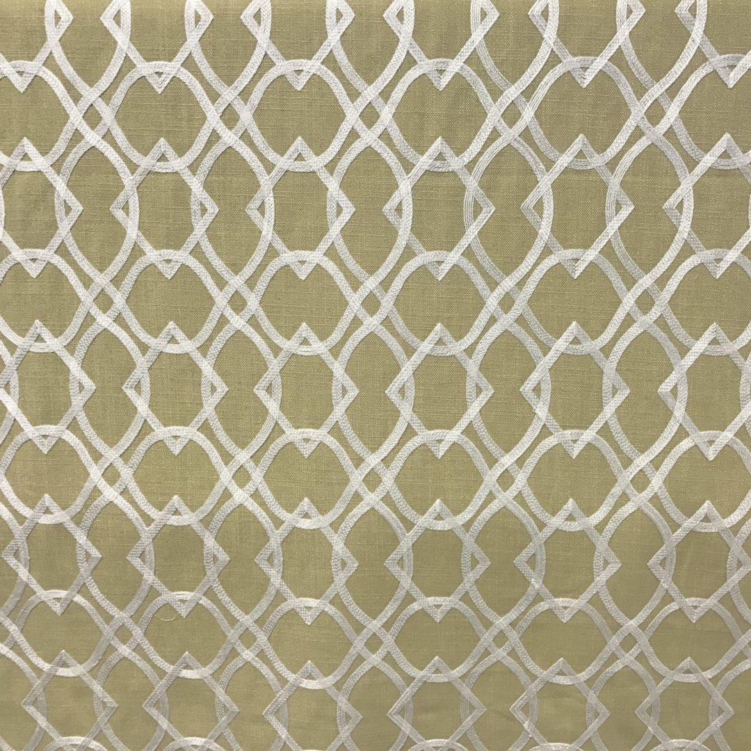 Forget Me Knots - Curry - Discount Designer Fabric - fabrichousenashville.com