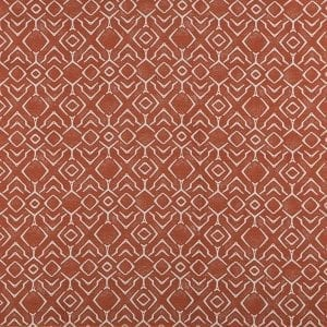 Abydos - Reflection Orange - Discount Designer Fabric - fabrichousenashville.com