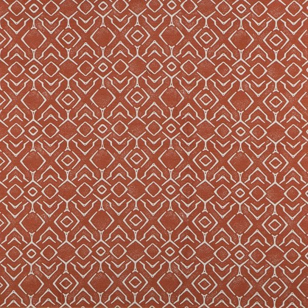 Abydos - Reflection Orange - Discount Designer Fabric - fabrichousenashville.com