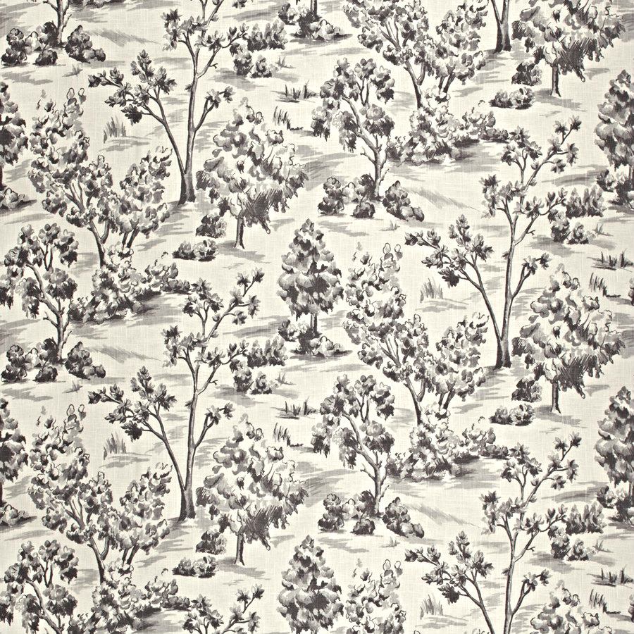 Arbe Toile - Coal - Discount Designer Fabric - fabrichousenashville.com