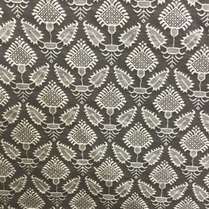 Pondicherry - Coal - Discount Designer Fabric - fabrichousenashville.com