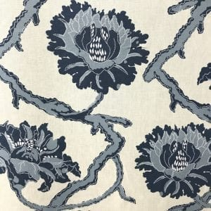 Laureate - Indigo - Discount Designer Fabric - fabrichousenashville.com