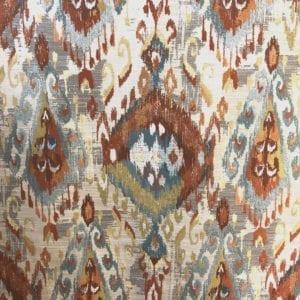 Aham - Flame - Discount Designer Fabric - fabrichousenashville.com