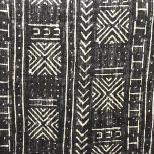 Mali Mud Cloth - Inked - Discount Designer Fabric - fabrichousenashville.com