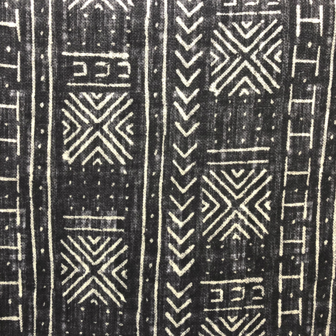 Mali Mud Cloth - Inked from The Fabric House, buy fabric online, fabric store, online fabric store.