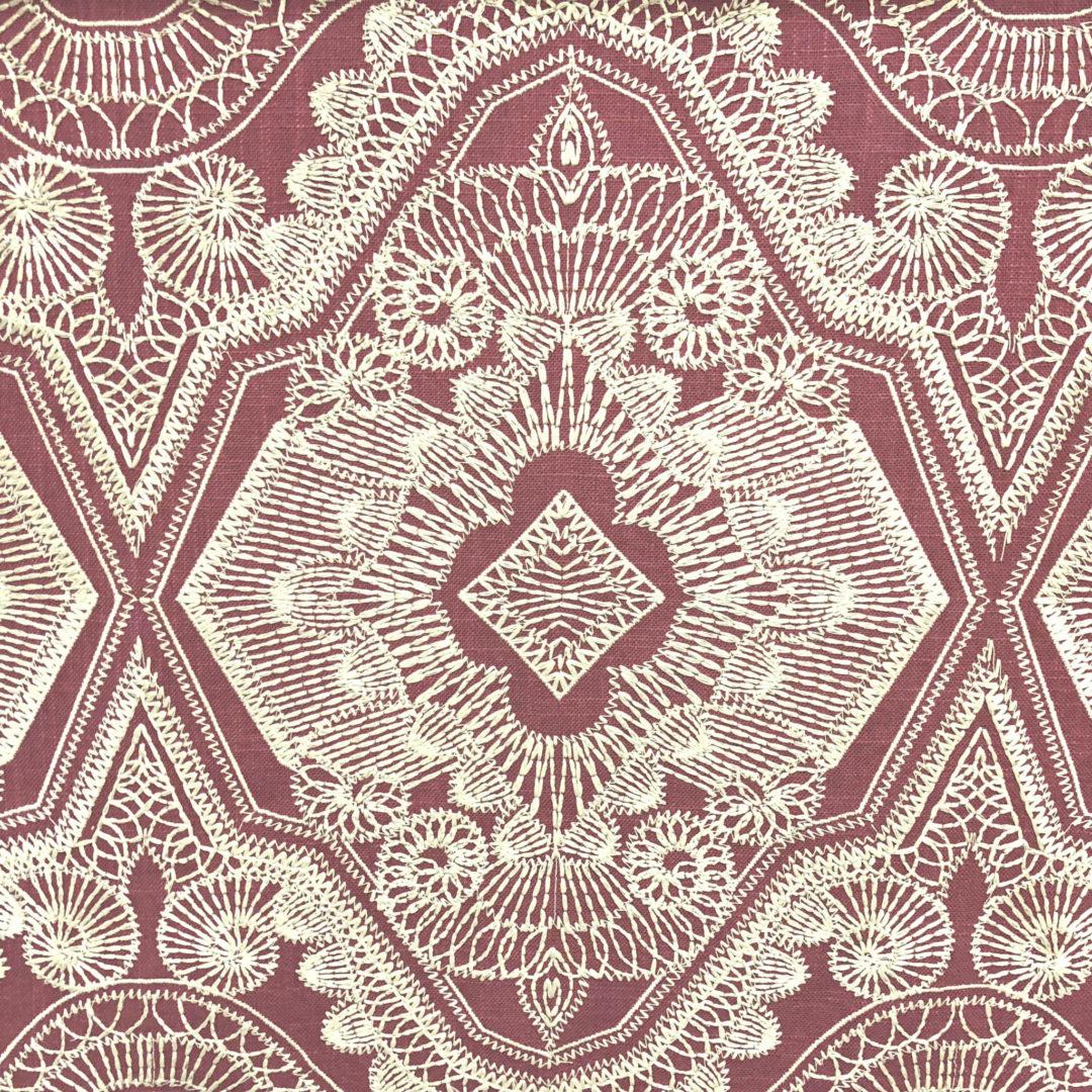 Sabar - Crimson - Discount Designer Fabric - fabrichousenashville.com