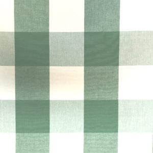 Four Inch Check - Kelly - Discount Designer Fabric - fabrichousenashville.com