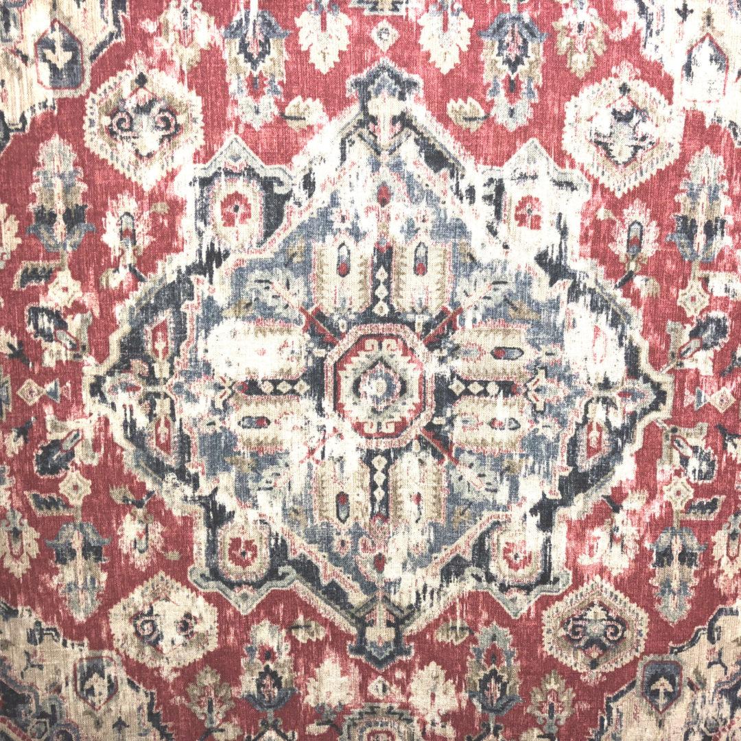 Massimo - Moroccan Red - Discount Designer Fabric - fabrichousenashville.com