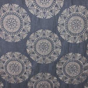 Saskia - Bluestone - Discount Designer Fabric - fabrichousenashville.com