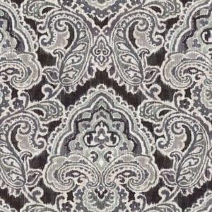 ARTESANIAS IKAT-GRAPHITE - Discount Designer Fabric - fabrichousenashville.com