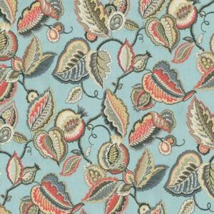 FANTASY FLEUR-SEAGLASS - Discount Designer Fabric - fabrichousenashville.com