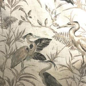 Heron - Natural - Discount Designer Fabric - fabrichousenashville.com