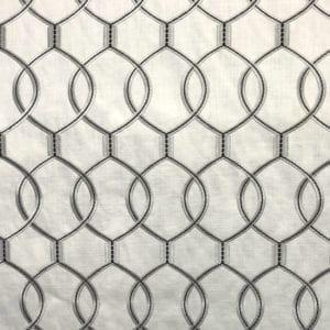 Slalom - Platinum - Discount Designer Fabric - fabrichousenashville.com