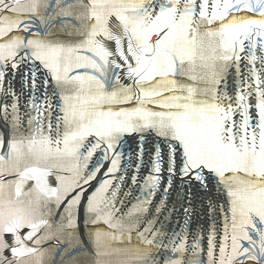Tancho - Parchment - Discount Designer Fabric - fabrichousenashville.com