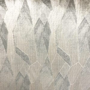With a Twist - Gunmetal - Discount Designer Fabric - fabrichousenashville.com