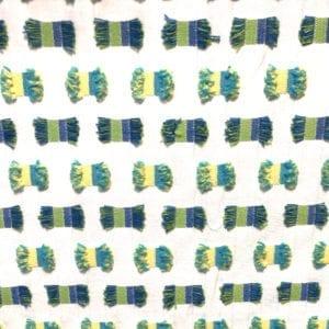 O'Fifi - Blue Green - Discount Designer Fabric - fabrichousenashville.com