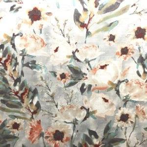 Flower Mania - Shell - Discount Designer Fabric - fabrichousenashville.com