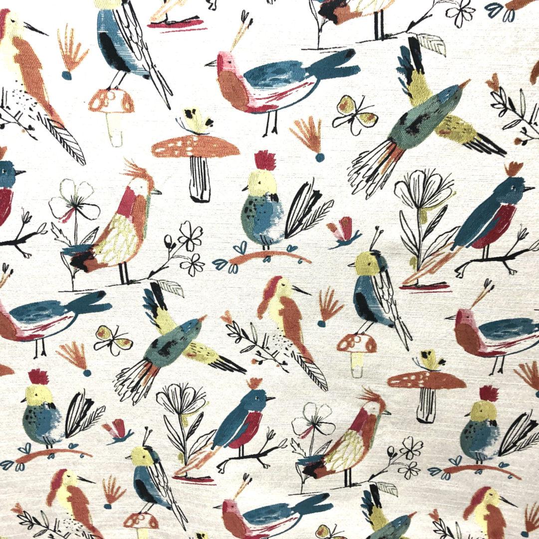 Tweet Tweet - Carnival - Discount Designer Fabric - fabrichousenashville.com