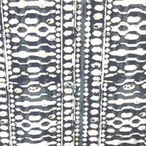 Yoruba - Ink - Decorator Fabric - Designer Fabric for Custom window treatments - fabric stores Nashville TN