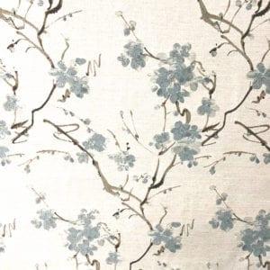 Cherry Grove - Sky - Discount Designer Fabric - fabrichousenashville.com