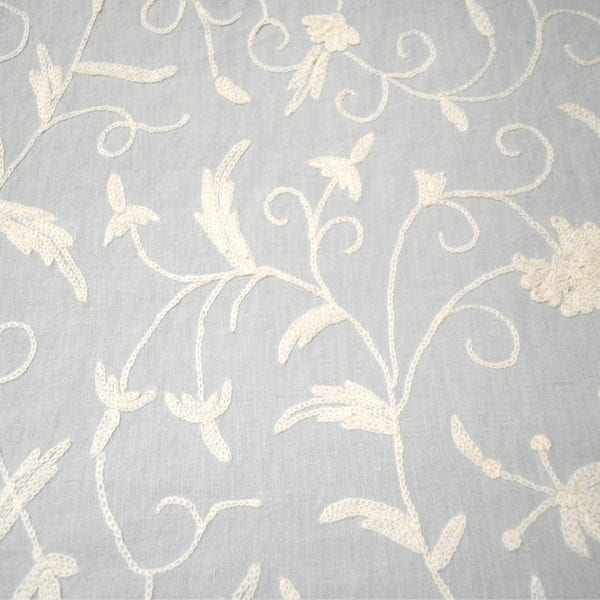 Garden - Pale Blue - Designer Fabric from the Best Online Fabric Store