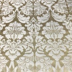 Danio Damask - Leaf - Designer & Decorator Fabric from #1 Online Fabric Store