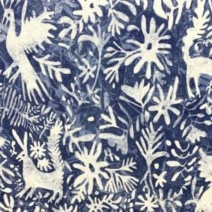 Otomi - Cobalt - Designer & Decorator Fabric from #1 Online Fabric Store
