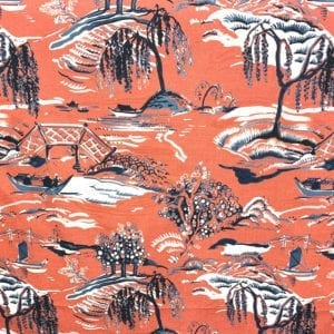 Yama - Pomegranate - Designer & Decorator Fabric from #1 Online Fabric Store