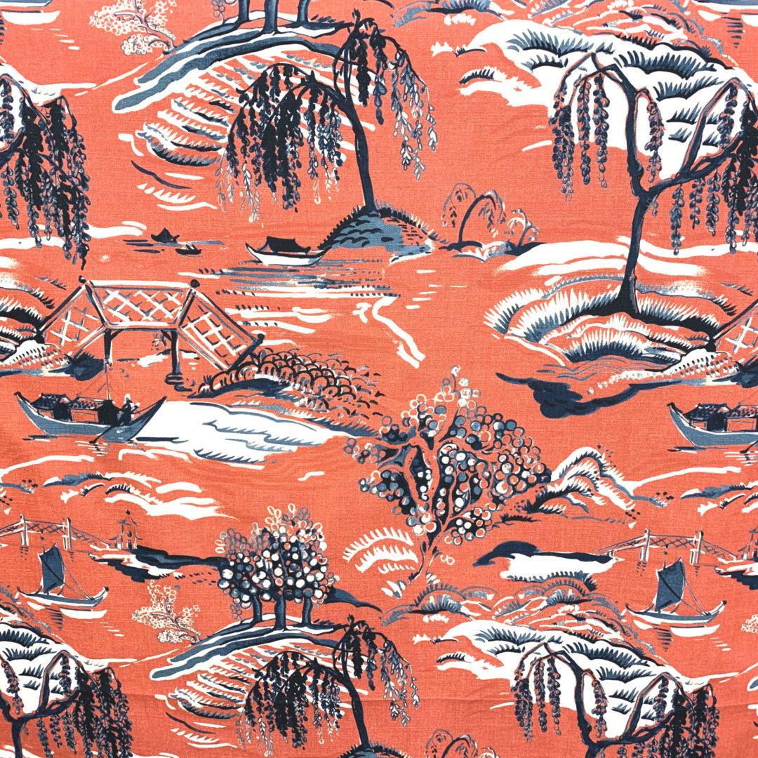 Yama - Pomegranate - Designer & Decorator Fabric from #1 Online Fabric Store