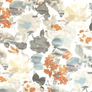 Aqua Fleur - Nectar - Designer & Decorator Fabric from #1 Online Fabric Store