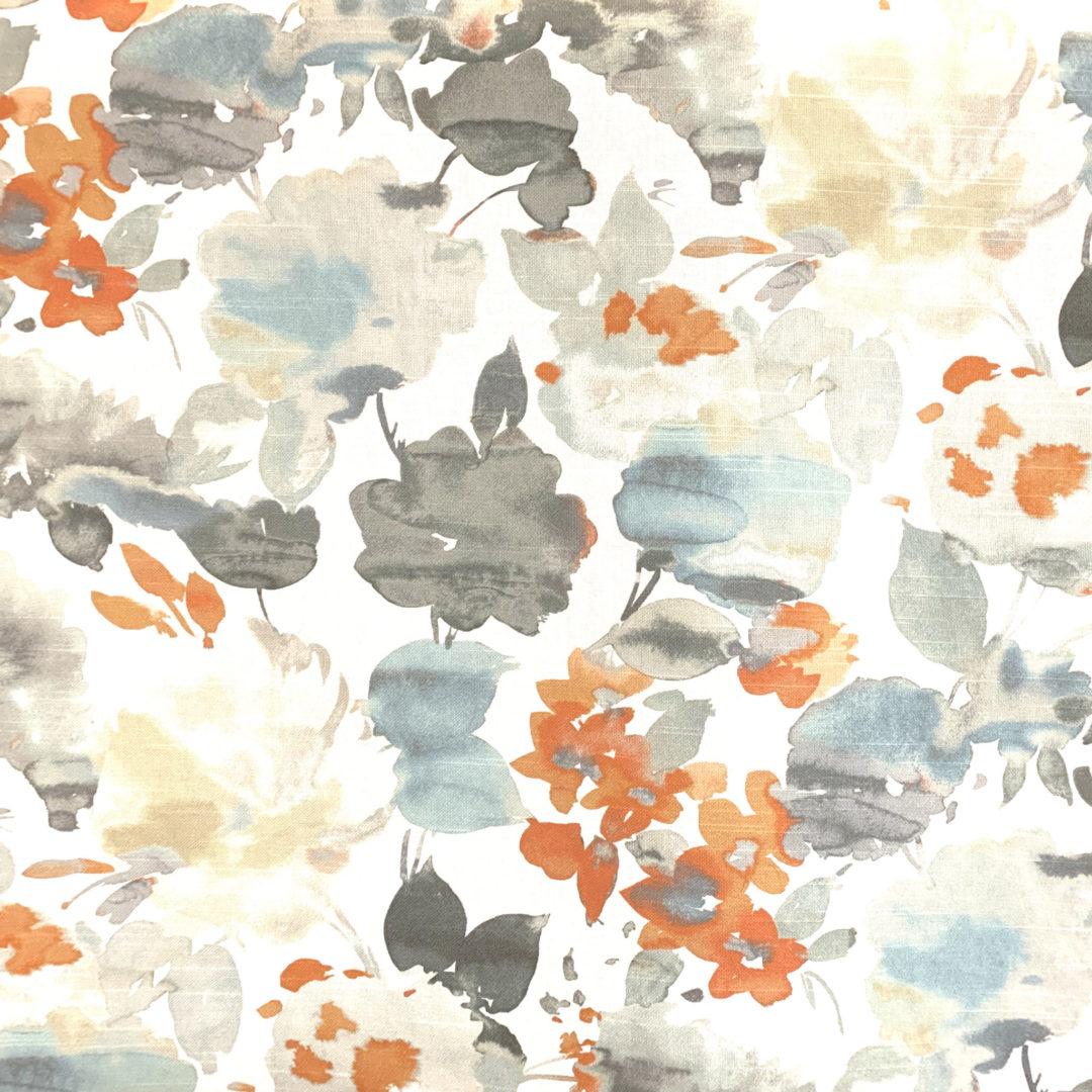 Aqua Fleur - Nectar - Designer & Decorator Fabric from #1 Online Fabric Store