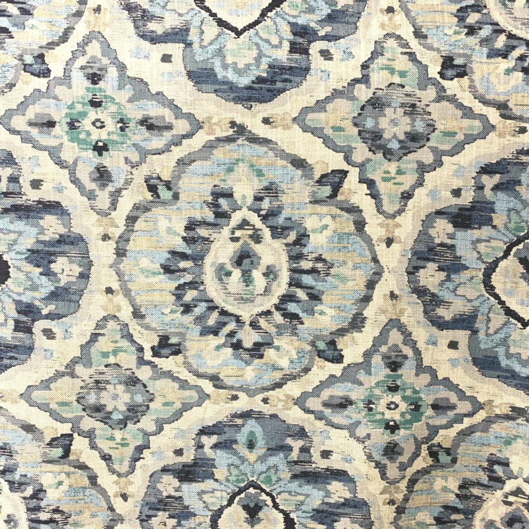 Zari - Delft - Designer & Decorator Fabric from #1 Online Fabric Store