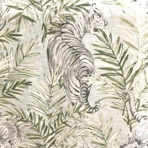 Maharani - Snow - Designer Fabric - Decorator fabric from online fabric store, fabrichousenashville.com