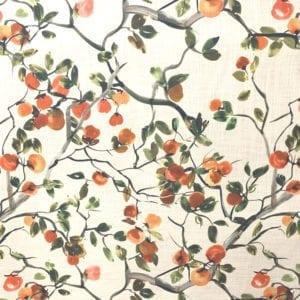 Orchard - Mandarin - Designer Fabric - Decorator fabric from online fabric store, fabrichousenashville.com