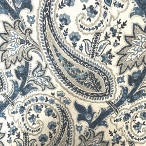Plumtree Paisley - Ink - Decorator fabric from online fabric store, fabrichousenashville.com