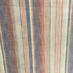 Sonoma Stripe - Henna Blue - Designer & Decorator Fabric from #1 Online Fabric Store
