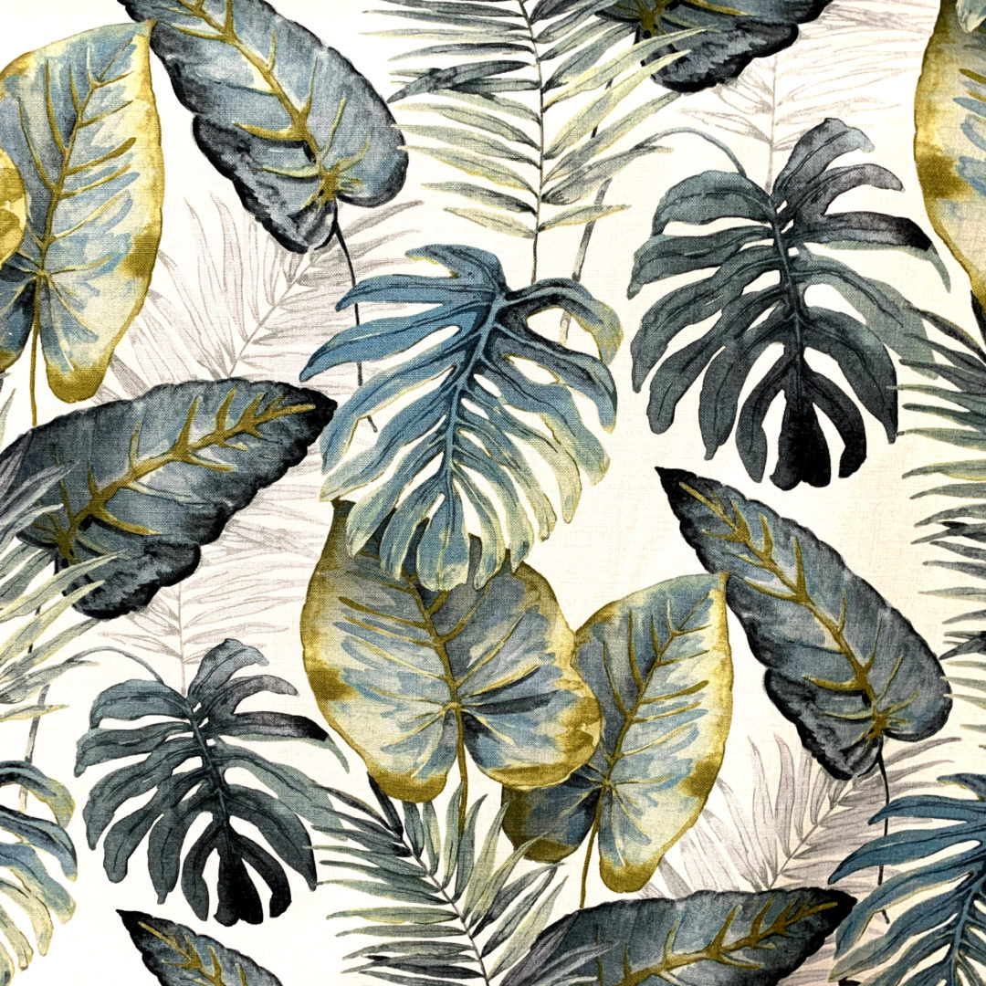 Tiki - Slate - Designer & Decorator Fabric from #1 Online Fabric Store
