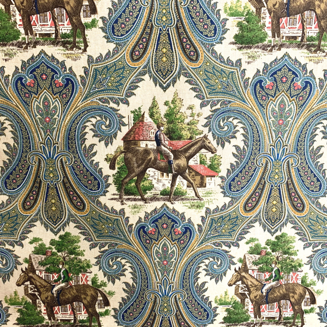 Woodgate - Royal - Designer & Decorator Fabric from #1 Online Fabric Store