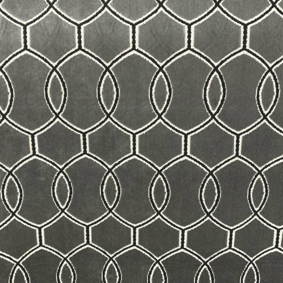 Caro - Graphite - Designer & Decorator Fabric from #1 Online Fabric Store