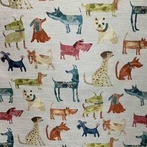 Wag a Tude - Multi - Online Fabric Store with Designer Fabrics - fabrichousenashville.com