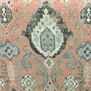 Alma - Terracotta- Designer Fabric from Online Fabric Store