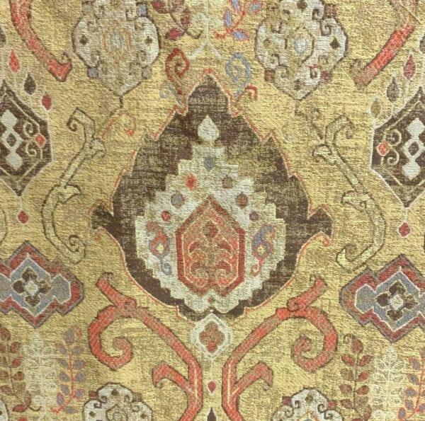 Alma - Vintage Gold- Designer Fabric from Online Fabric Store