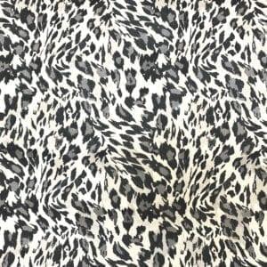 Cheetah - Granite- Designer Fabric from Online Fabric Store