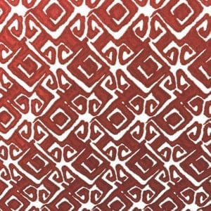Nola - Scarlet- Designer Fabric from Online Fabric Store