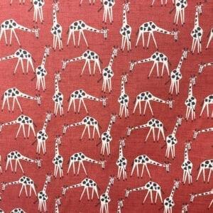 Just Giraffes - Poppy- Designer Fabric from Online Fabric Store