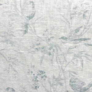 Aviary Toile - Chambray- Designer Fabric from Online Fabric Store