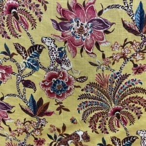Braganza - Amber- Designer Fabric from Online Fabric Store