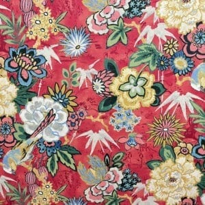 Dailiang- Peony- Designer Fabric from Online Fabric Store