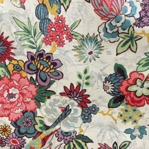 Dailiang- Hibiscus- Designer Fabric from Online Fabric Store
