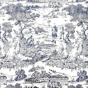 Versailles - Marine- Designer Fabric from Online Fabric Store